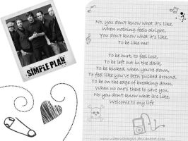 Simple Plan Wallpaper by waterwitchgirl
