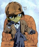 Sherlock Holmes Colored by masquerade23