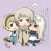 APH - Brother and sisters by rukaxxx