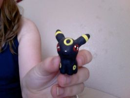 Umbreon sculpture 1 by VexiWolf
