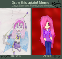 Draw Again: Blood Lust by AnimeGurl1012