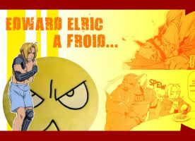 Edward Elric - Wallpaper I by MaD-ofED