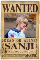 "One Piece - Wanted ""Sanji"" by das-Diddy"