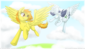 The Sky is Our Race Ground by InuHoshi-to-DarkPen