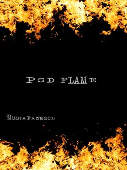 PSD Flame by mustafanesil