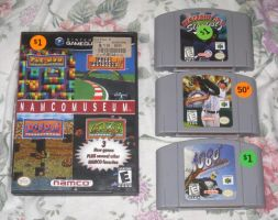 More games from that garage sale by T95Master