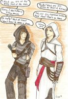 Garrett vs. Altair by Kwiss
