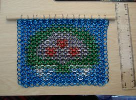 Chainmaille Metroid by SerenFey