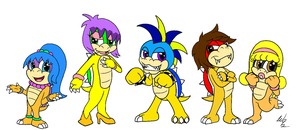 Collab:My koopa group by Captor-Variety-Girl