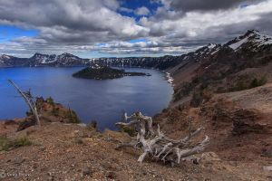 Lago del crater by DreaErvin