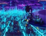 Neon city by Ann-Nick