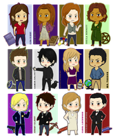+-+TVD Characters part1+-+ by ShadowDark1