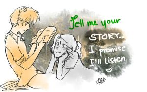 Tell me your story ... by TreyStrider