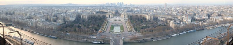 View From la Tour Eiffel by Callista-MacLeod