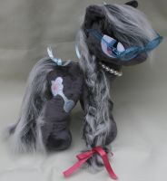 Custom FIM my little pony plush Silverspoon by eponyart