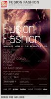 Fusion Fashion Event Flyer Template by loswl