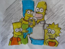 The Simpsons by blackcat1812