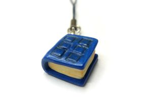 River Song TARDIS diary - Doctor Who - polymer by TenereDelizie