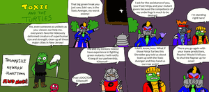 Toxie and the Turtles Page 1 by LuciferTheShort