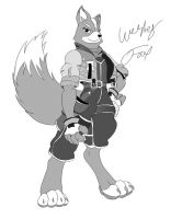 Fox McCloud ReStyle Anthro by GunZcon