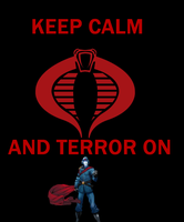 KEEP CALM AND TERROR ON by TMNTFAN85