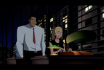 Arrow\The Flash: JLU Style: Diggle and Felicity by AMTModollas