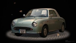 Nissan Figaro by leticiakao