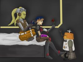 Star Wars Rebels: Motherly Care by AvengerBlackwidow