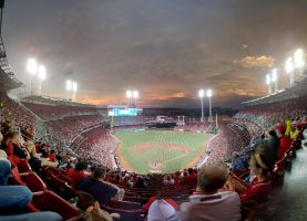 A Surrounding View of the Ball Park by JWthaMajestic