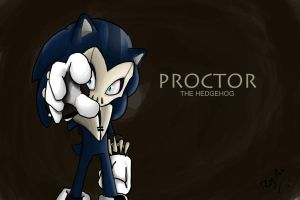 Proctor The Hedgehog by RhythmAx