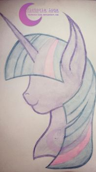 |T|Twilight Sparkle by Victoria-Luna