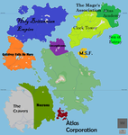 Roleplay Map Northern Part (In Progress) by CoincidentalMadness