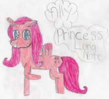 Princess Long Note As A Filly by rainbowmyst