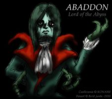 Abaddon the lord of the abyss by WAH-HOO