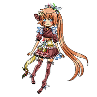 AT: Pixel Sanae by GazeRei