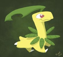 Daily Design: Bayleef by sketchinthoughts