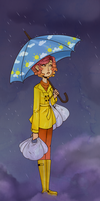 Under My Umbrella -ella -ella by OwlBeAwkward