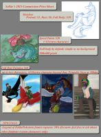 2015 Commission Prices by selkie-gal