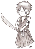 Chibi Shuuhei. by STRAWBERRYCURTIS