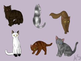 First ShadowClan by AnnMY