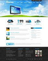 Halfscreen Wordpress Theme by ait-themes