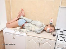 Chantelle is captured in the kitchen 08 by Stervus