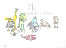 Mixels - Remember 9-11 by worldofcaitlyn
