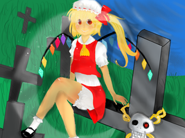 Flandre Scarlet by Hanna030