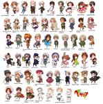 What my cousins thing about Hetalia's characters by Princess-ofHope