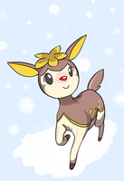 Rudolph Deerling by alpacapala