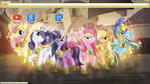 The Royal Guards of Harmony Google Chrome Theme by bubblehun