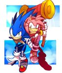 Sonic boom : Sonic  and Amy by Omiza