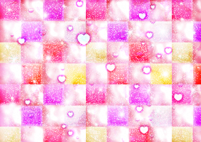 8328235-abstraction-pink-starry-background-with-he by MissesAmberVaughn