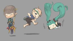 Chibi Time by LonPi